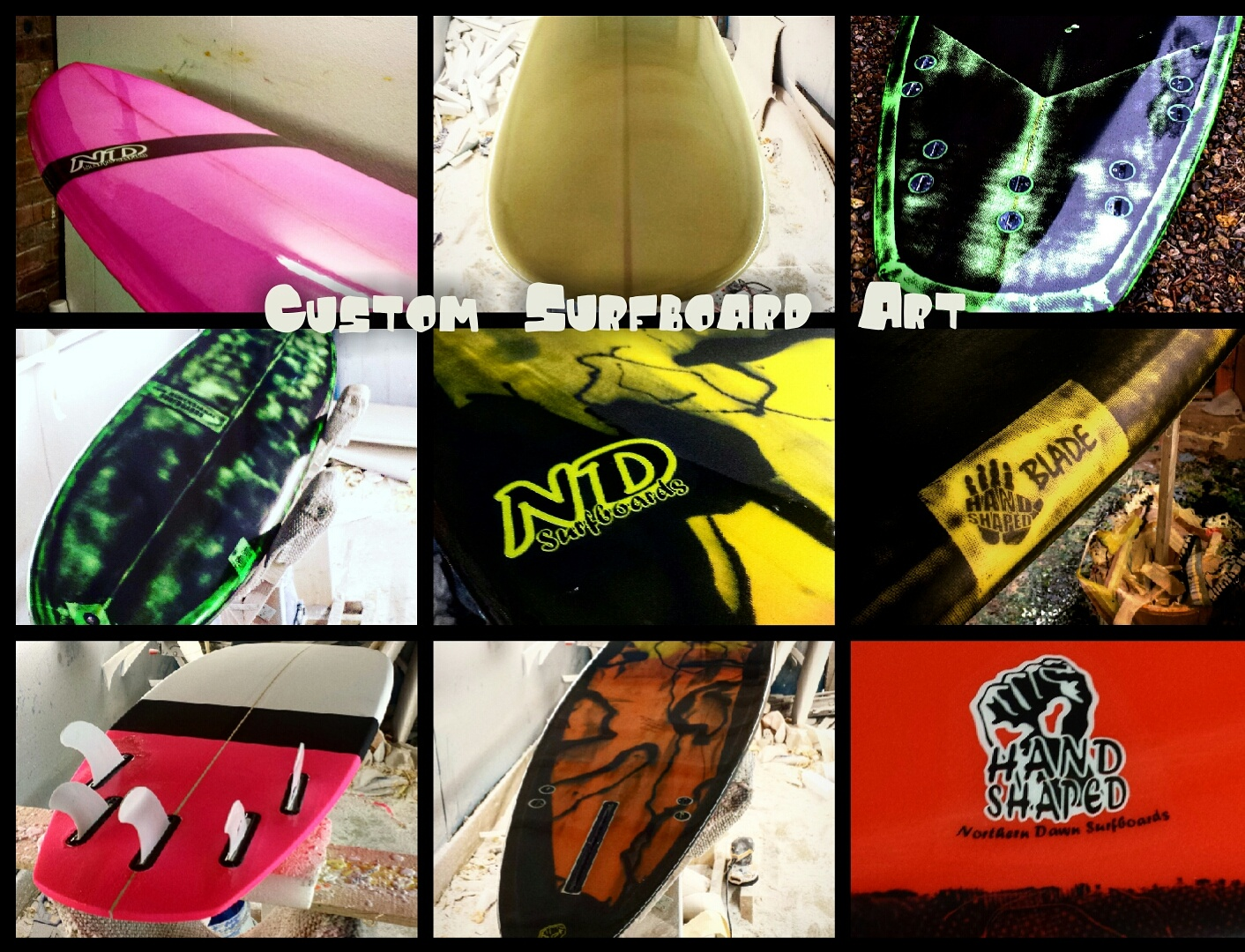 Custom Surfboards UK
