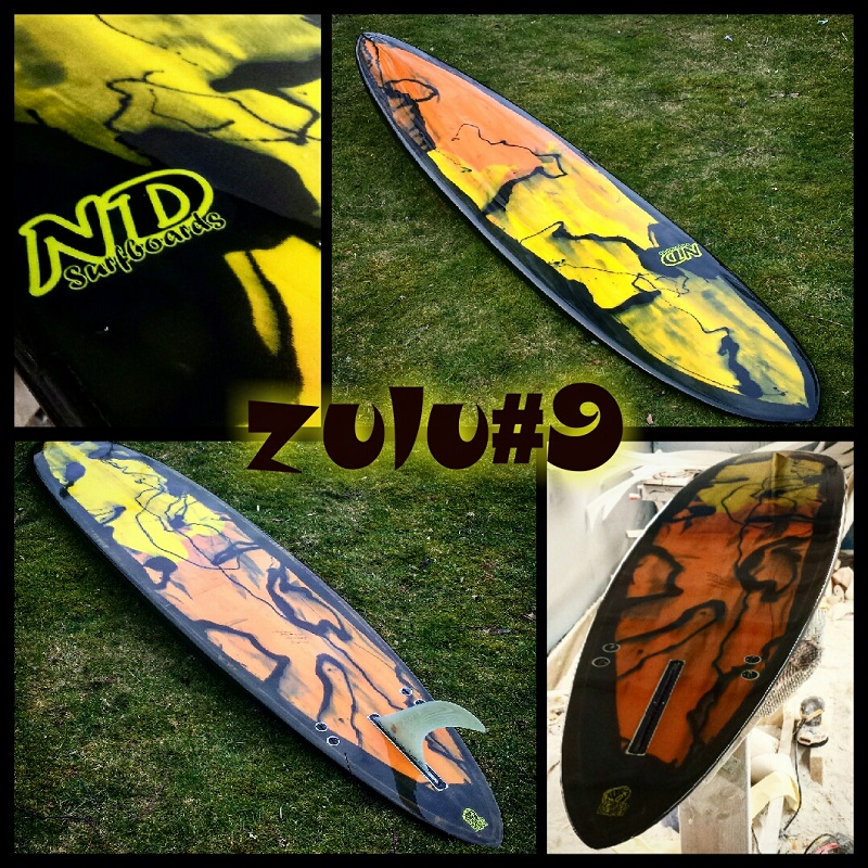 Custom Hand shaped Longboards UK