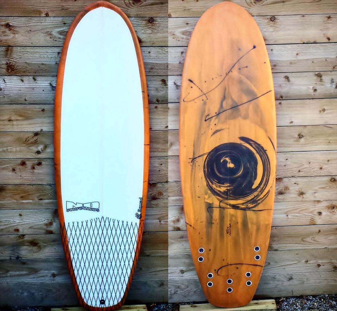 Squad funboard nd surfboards uk for Hybrid fish surfboard
