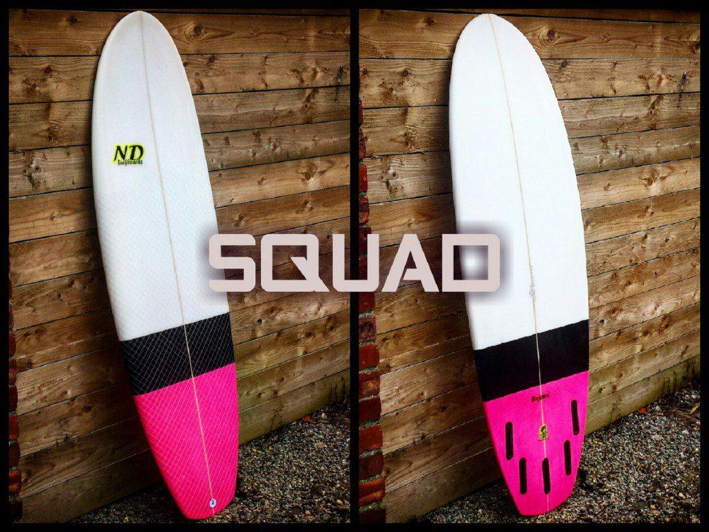 Custom Squad Surfboards UK