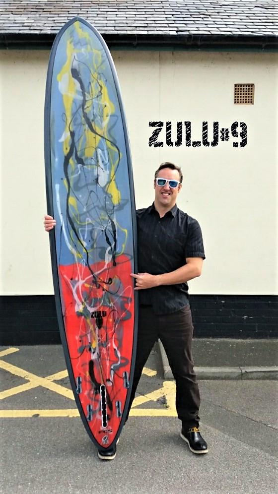 CUSTOM ONE OFF LONGBOARDS | Surfboards UK