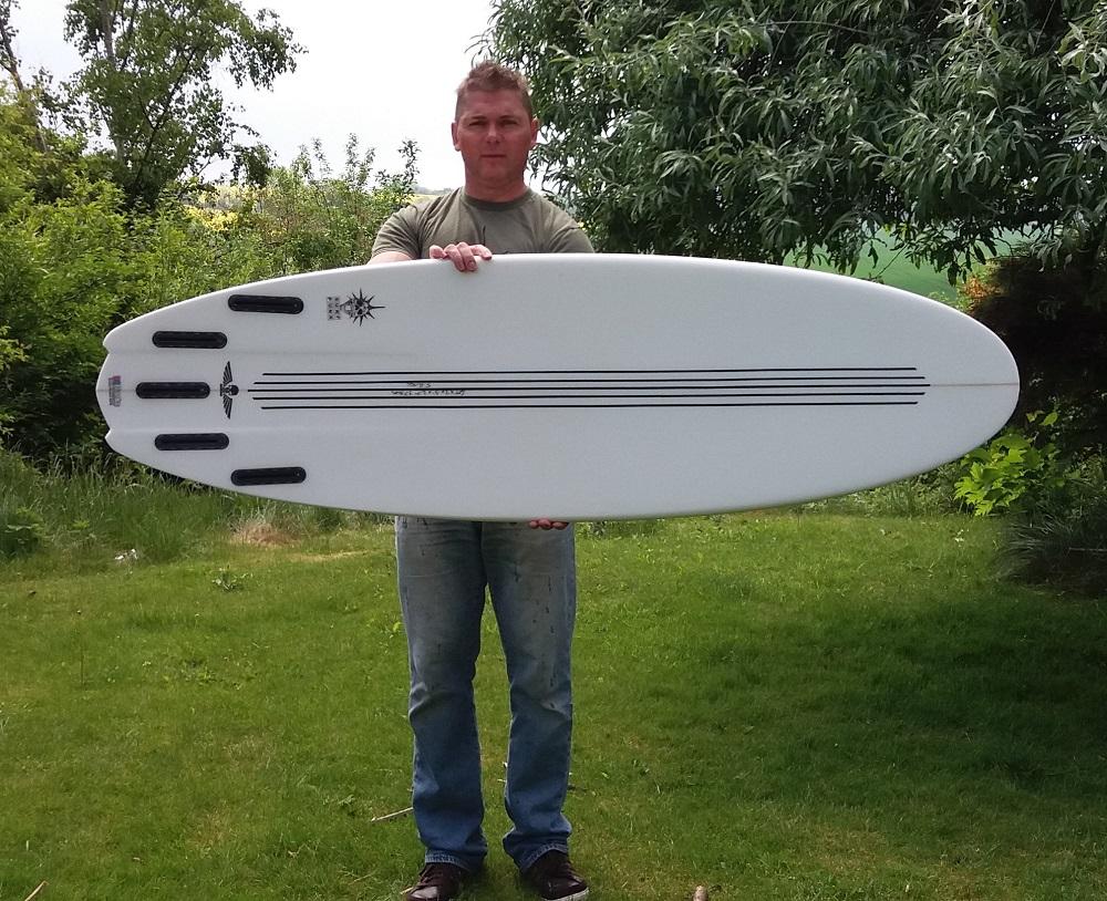 Custom Surf Punk Shortboard