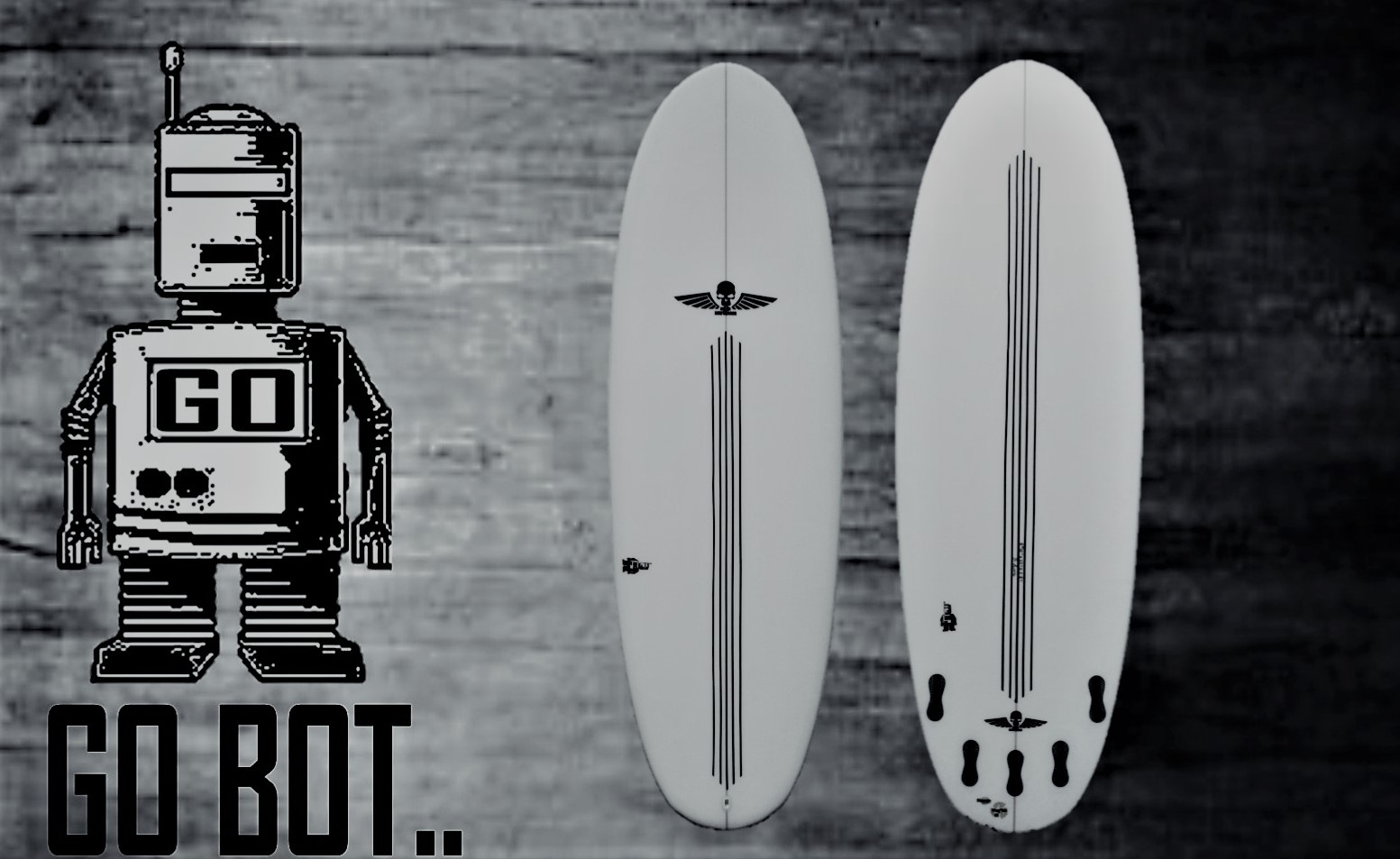 Surfboards UK, The GO-BOT