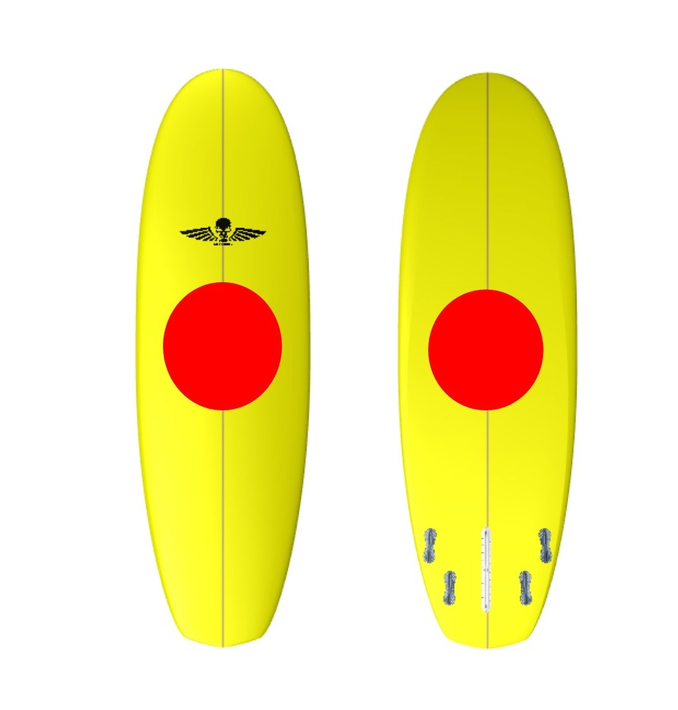 Custom Squad Surfboard