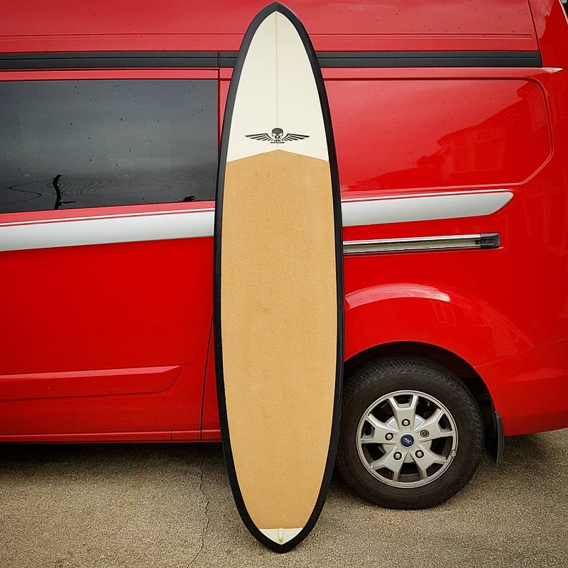 Eco Surfboards, Hemp and Cork construction