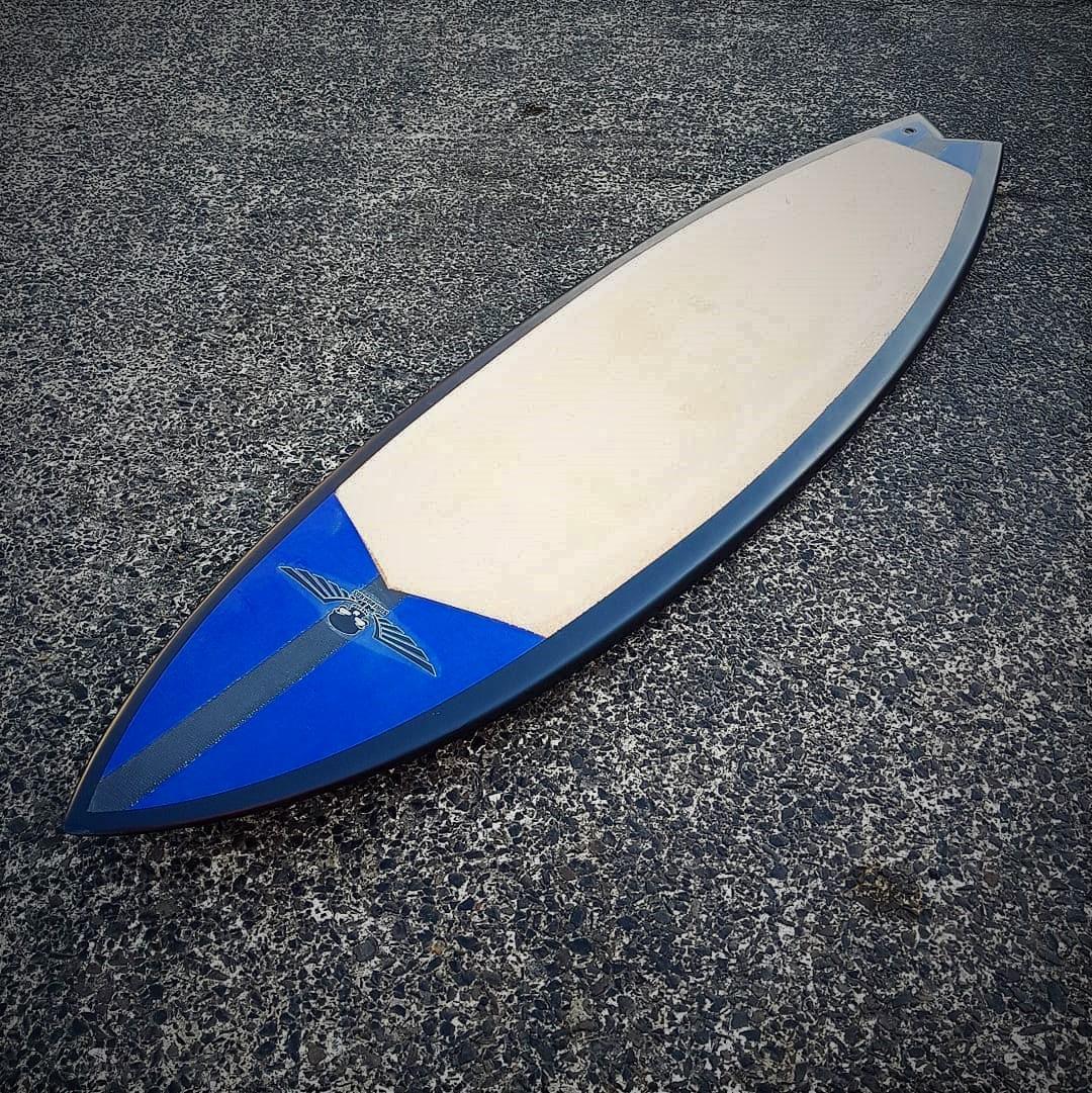 Eco Surfboards, Hemp Fish Surfboard