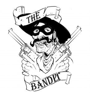 Bandit Shortboard Logo