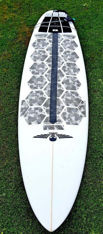 Custom Shortboards UK, The Bandit