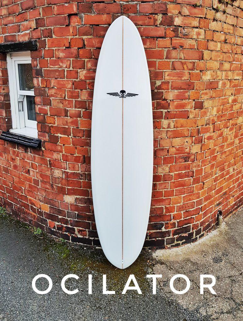 Single fin surfboards UK